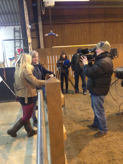 Filming Countryfile