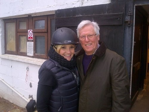 Countryfile's Helen Skelton and John Craven